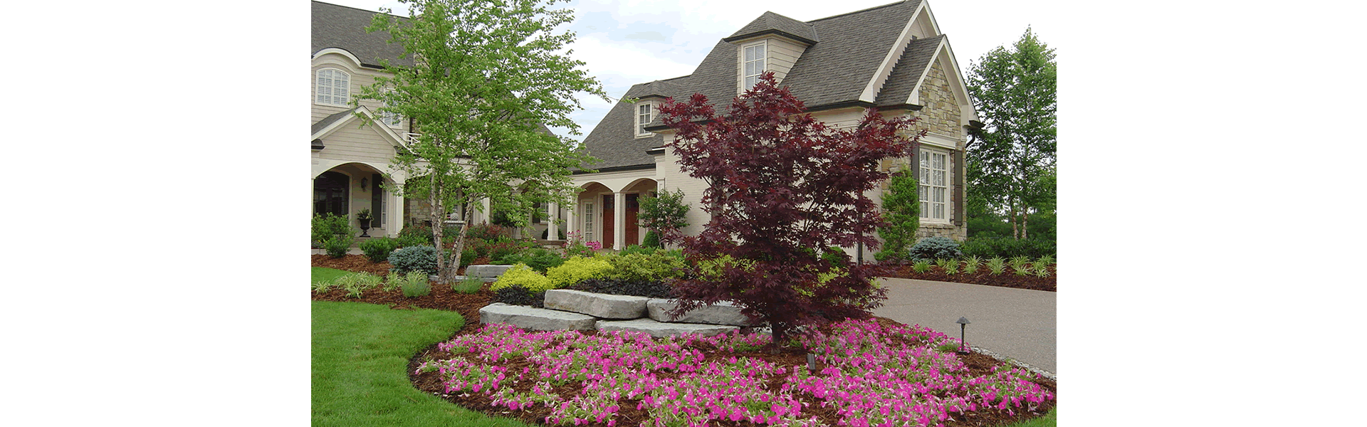 A well-designed landscape can change the way you see your home